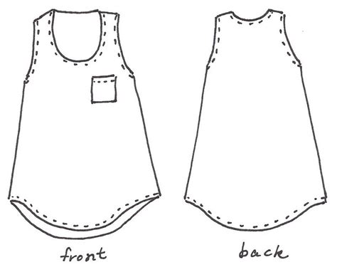 tank top template images