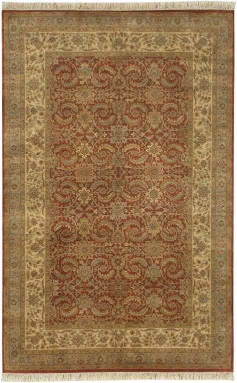 Surya Wool Area Rugs Surya Area Rugs Heirloom Wool Rug Hlm6005 Cinnamon Traditional Rugs Area Rugs By Style