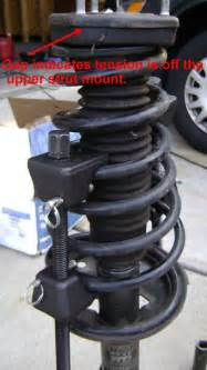 Car Struts And Springs Toyota Camry Rear Strut Coil Replacement Axleaddict