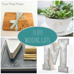 wedding gift diy home made modern diy wedding gifts