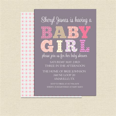 Baby Shower Invitations Diy by Diy Printable Baby Shower Invitation For No 2