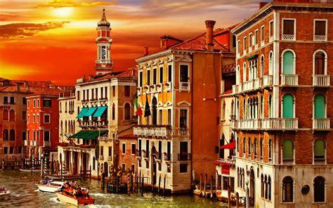 Gamis Elegan Venez venezia canal grande italy walldevil