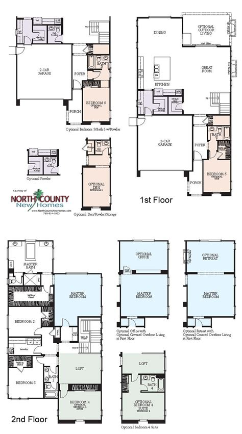new home floor plan westerly at rancho tesoro new home floor plans north county new homes