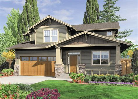 craftsman style house plan 3 beds 2 5 baths 2002 sq ft