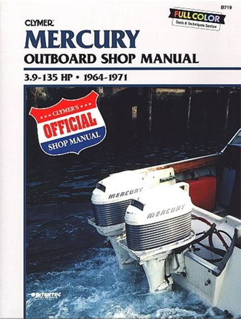 Mercury Outboard Manual Service Shop And Repair Manuals