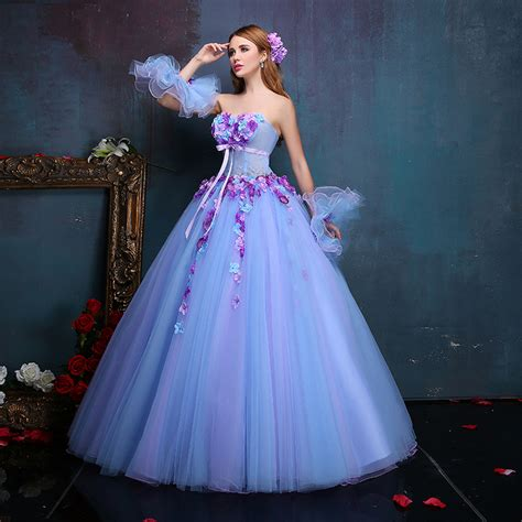 Best Spoon Princess Dress aliexpress buy 100 real luxury floral dress with sleeve cuff renaissance gown