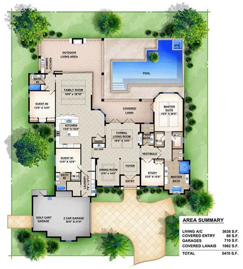 mediterranean house floor plan and design house plan 78104 at familyhomeplans com