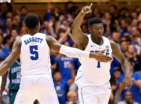 duke basketball blue devils  set  acc record