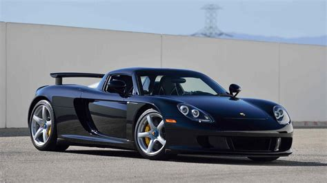 carrera porsche porsche carrera gt with 152 miles on the odometer heads to