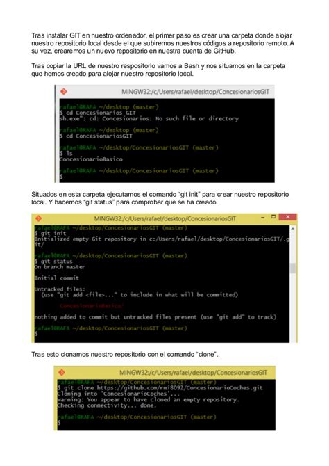 tutorial git local tutorial git comandos