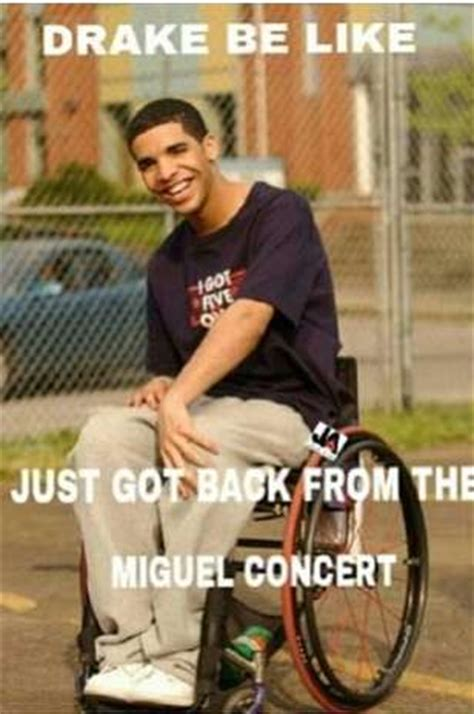 Miguel Concert Meme - drake announces tour with singer miguel drops date for