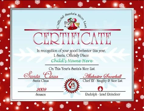 Letter From Santa Template Printable   Printable template 2017