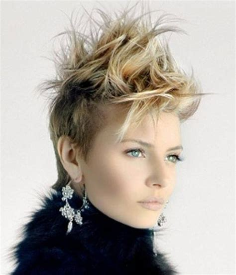 haircuts for women long hair that is spikey on top spiky short hairstyles for girls 2014 2015