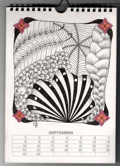 doodle pro calendar 69 best tangle aquafleur images on zentangle