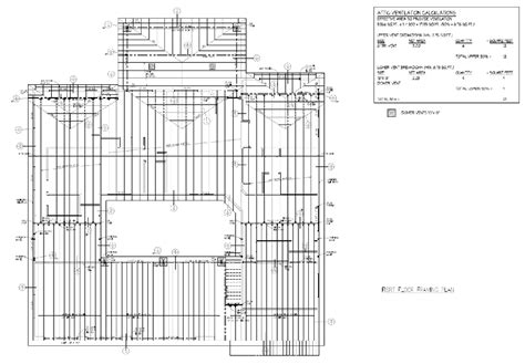steel floor framing plan preparation of construction documents structural drawings design