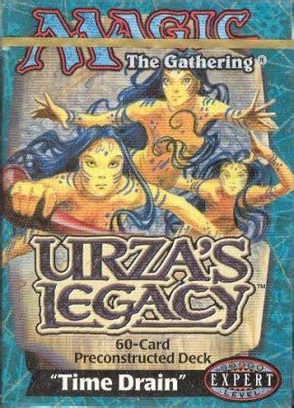 theme deck list mtg urza s legacy time drain preconstructed theme deck mtg
