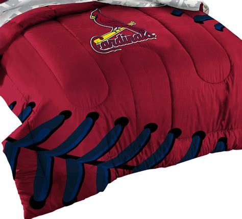 st louis cardinals bedroom 3 piece mlb st louis cardinals baseball twin full