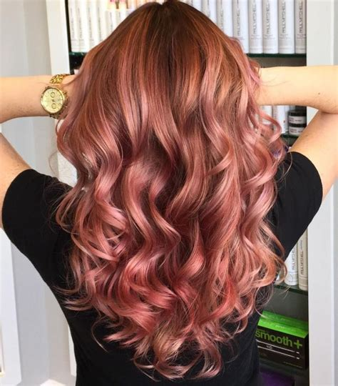 which hair color from sallys rose gold 20 rose gold hair color ideas tips how to dye rose