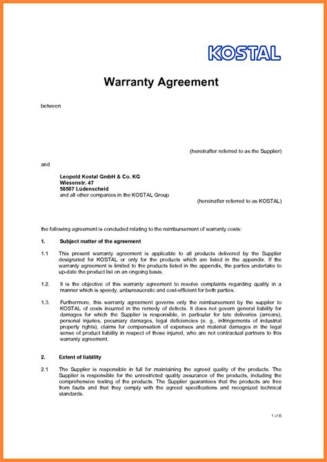 6 legal agreement between two parties template purchase