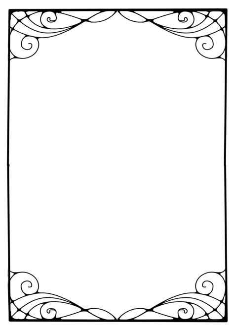 printable art to frame art nouveau frames clipart best