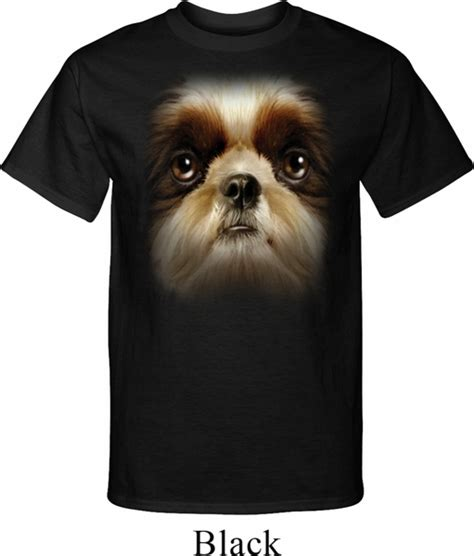 shih tzu shirts mens shih tzu shirt big shih tzu t shirt big shih tzu mens shirts