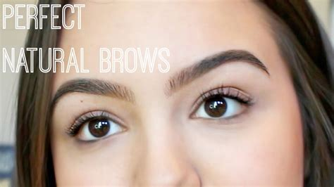 why are my eyebrows getting wirey how to fill natural eyebrows youtube