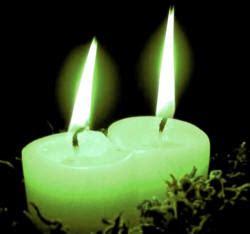 candela verde significato candele significato