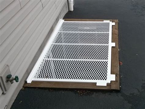 metal grate window well covers square window well covers made to fit any rectangular shape