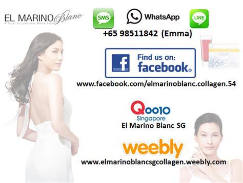El Marino Collagen product el marino blanc sg