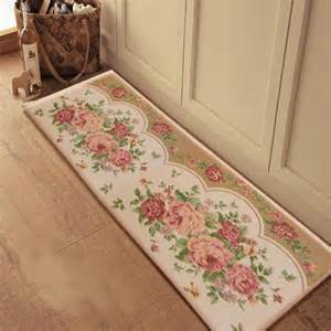Jacquard Kitchen Rugs Mat Cake Picture More Detailed Picture About Peony Kitchen Bedroom Balcony Jacquard Mats
