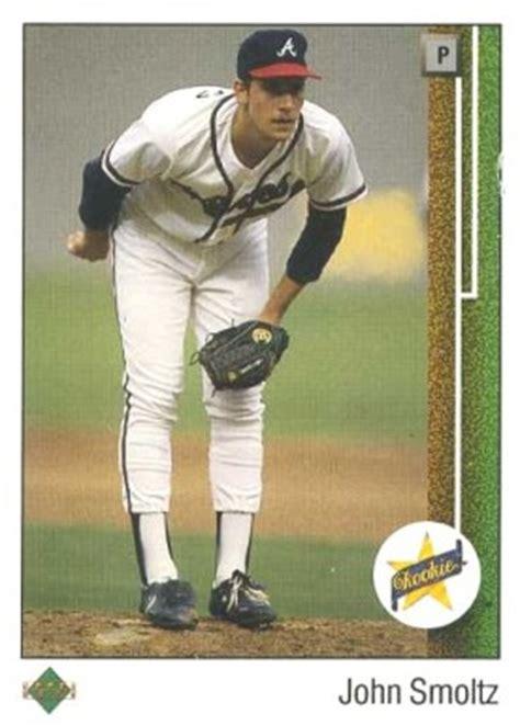 1989 upper deck john smoltz #17 baseball card value price