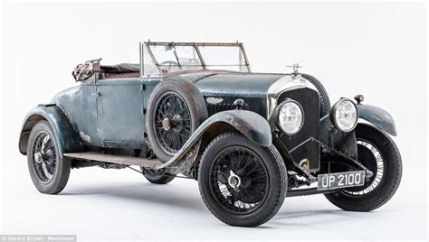 vintage bentley 1928 bentley taken apart and kept in boxes for more than
