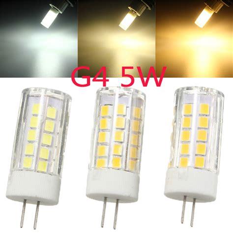 Halogen Chandelier Bulbs Ceramic Led G4 L Bulb 5w 44 Smd 2835 Led Light Bulb Replace Halogen For Chandelier 110v