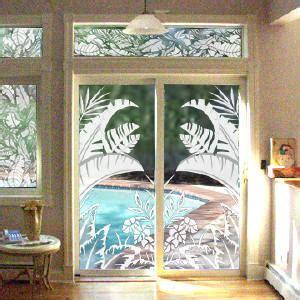 Patio Door Decals Etched Glass Decals Vinyl Etchings Vinyl Etched Glass Window Decals Corner Decals And Sidelite