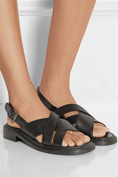 sandals church leather slingback sandals church s fashion gt shoes