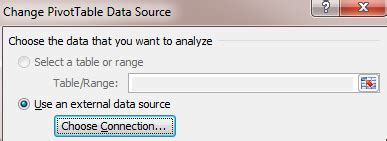 connect slicer to pivot tables different data source pivottable paras doshi