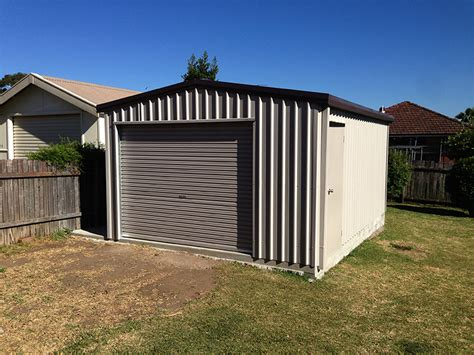 Colorbond Sheds Sydney by Garages Outdoor Garages And Sheds Beverly St