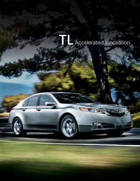 2010 acura tl fact sheet dch acura of temecula