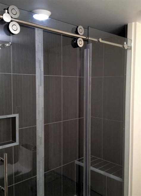 Shower Doors Winnipeg Barn Style Simplicity In Your Bathroom Winnipeg Free Press Homes