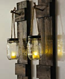 Home Interior Wall Sconces Rustic Wall Decor Reclaimed Wood Hanging By Dreamhomewoodshop
