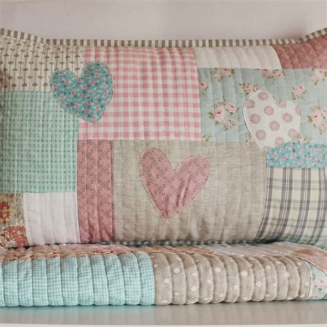 Quilt Pillow by Creations Peachy Baby Quilt And Pillow