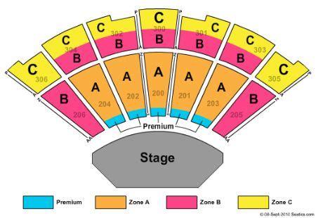 garden seating chart