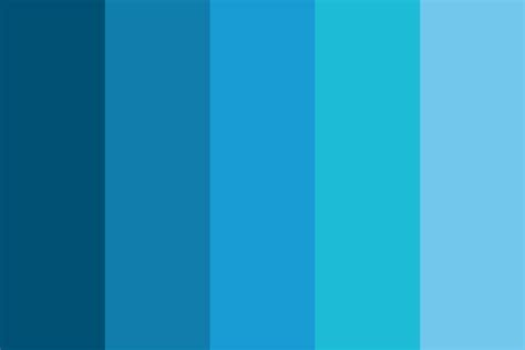 blue color palette cool blue color palette