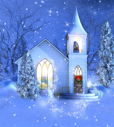winter church backgrounds butterflywebgraphics
