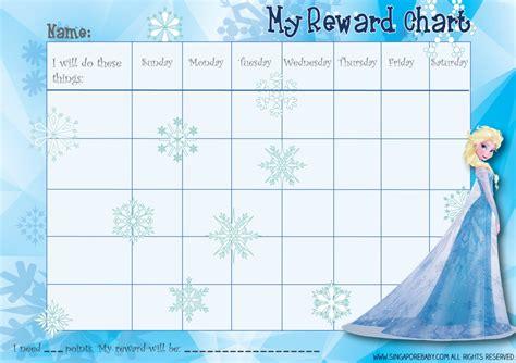 printable reward charts for behaviour 6 best images of free printable behavior charts hello