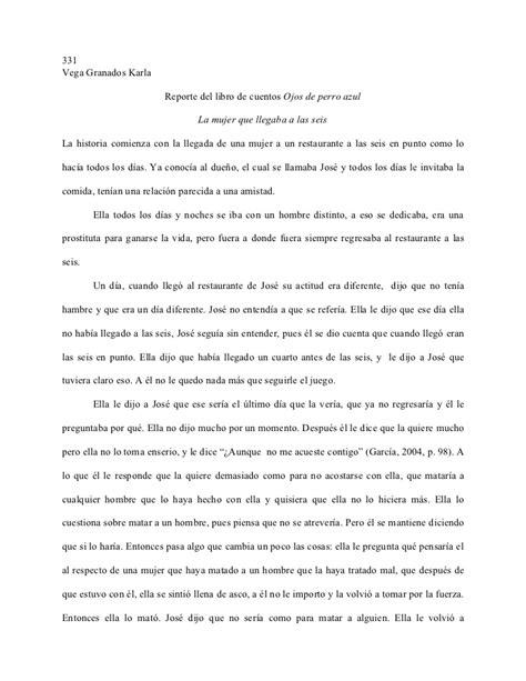 What Makes Up Paper - reporte libro ojos de perro azul