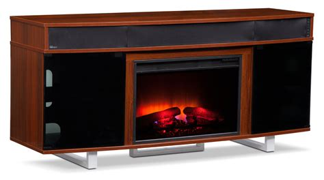 renzo bar cabinet american signature furniture pacer 64 quot traditional fireplace tv stand with sound bar