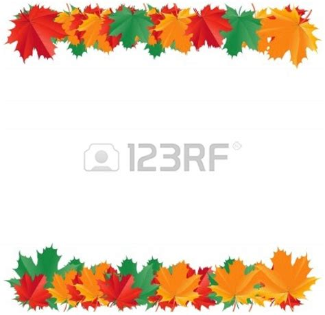 fall borders clip leaf clip borders clipart collection