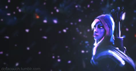 dota couch drow ranger wallpaper 2 by dotacouch on deviantart