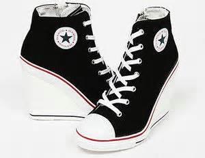 black high heel converse converse heels converse and heels on